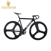 купить Track Bike Fixie frame 53cm 55cm 58cm  700C  Aluminum alloy fixed gear Bike Track Bike Bicycle Magnesium Alloy wheel bike по цене 22730.79 рублей