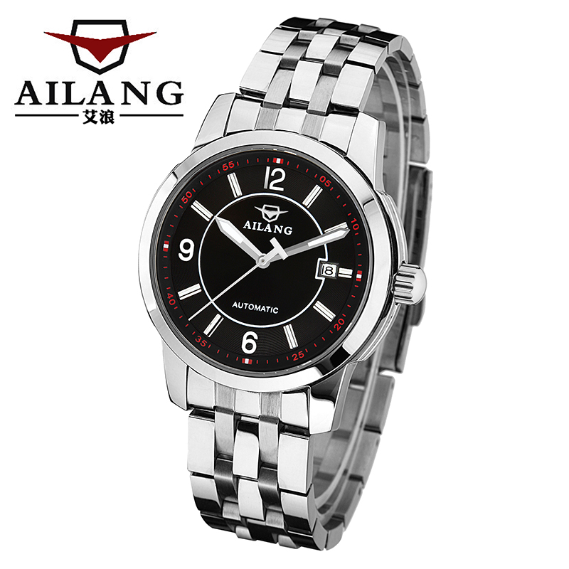 Luxury Brand mens Automatic Mechanical Wrist Watches date 5 ATM Waterproof Watches Stainless Steel Watchband feminine complete Luxury Brand mens Automatic Mechanical Wrist Watches date 5 ATM Waterproof Watches Stainless Steel Watchband feminine complete