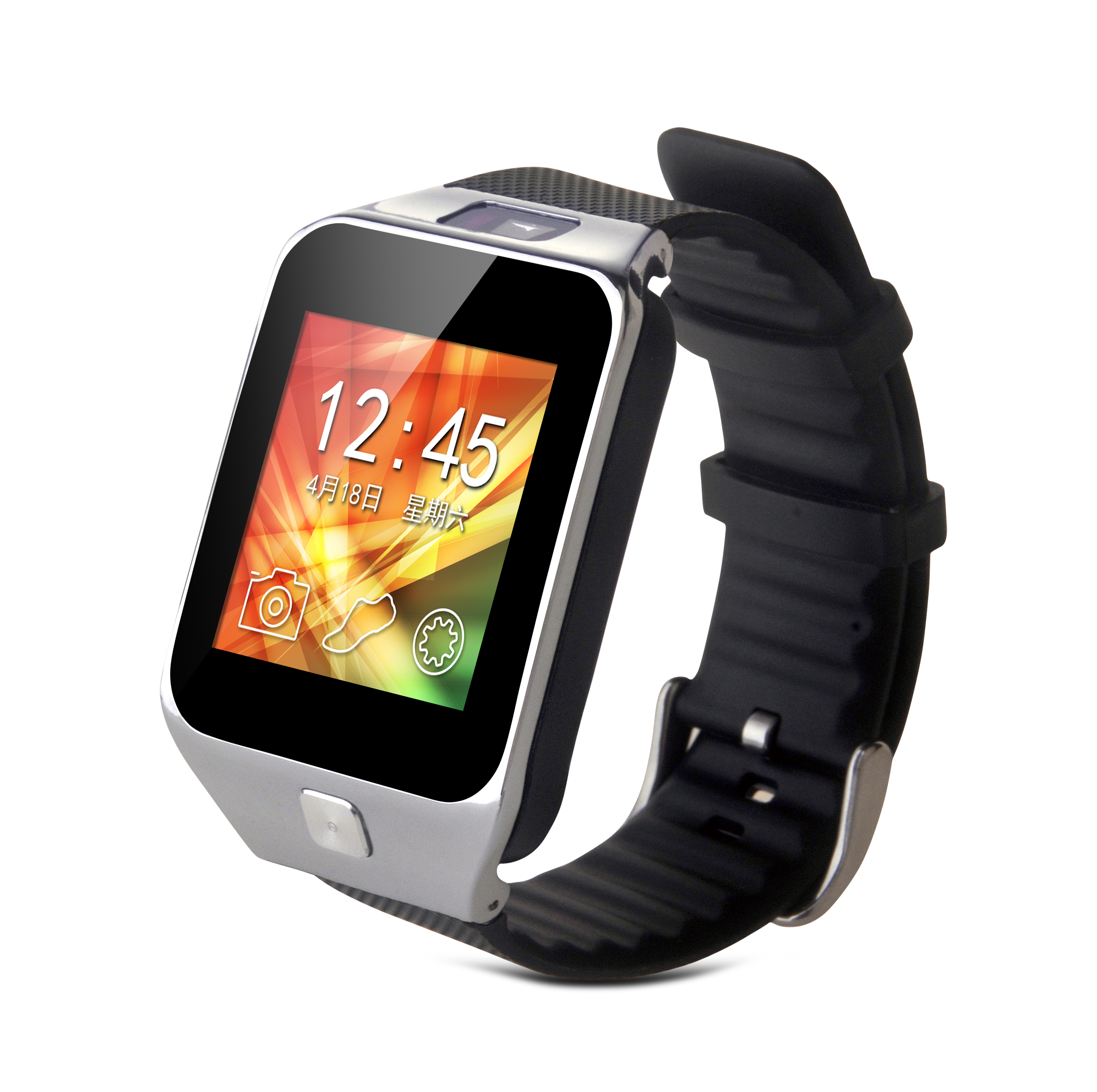 SW29 1 54 font b Smartwatch b font Phone MTK6260A with Pedometer Sleep Monitor Sedentary Smart