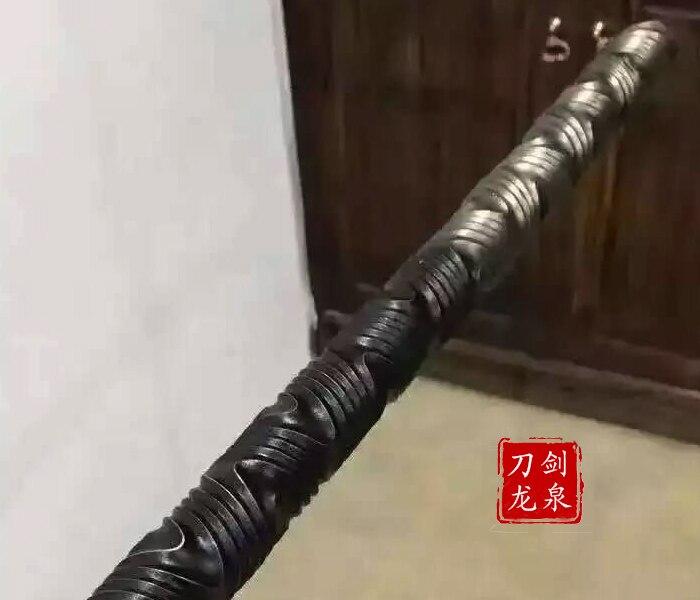 Premium High Carbon Steel Wushu Staff 2