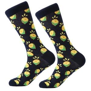 Image 5 - MYORED 12 çift/grup erkek çorapları Calcetines Hombre moda düğün hediyesi erkekler rahat çorap sonbahar kış sıcak noel hediyesi