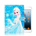 Frozen Case for Funda iPad 2 Capa Para PU Leather Ultra Slim Smart Case Protector for iPad 3 Coque Kids Christmas Gift + Film