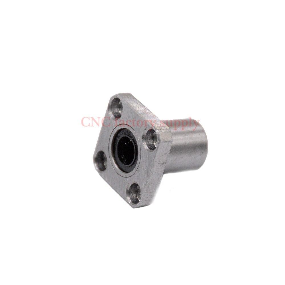 Free shipping LMK35UU 35mm flange linear bearing CNC Flange Linear Bush