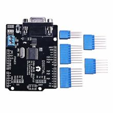1Set MCP2515 Can Bus Shield Board SPI Interface 9 Pins Standard Sub-D Connector Expansion Board Module DC 5-12V For Arduino(China)