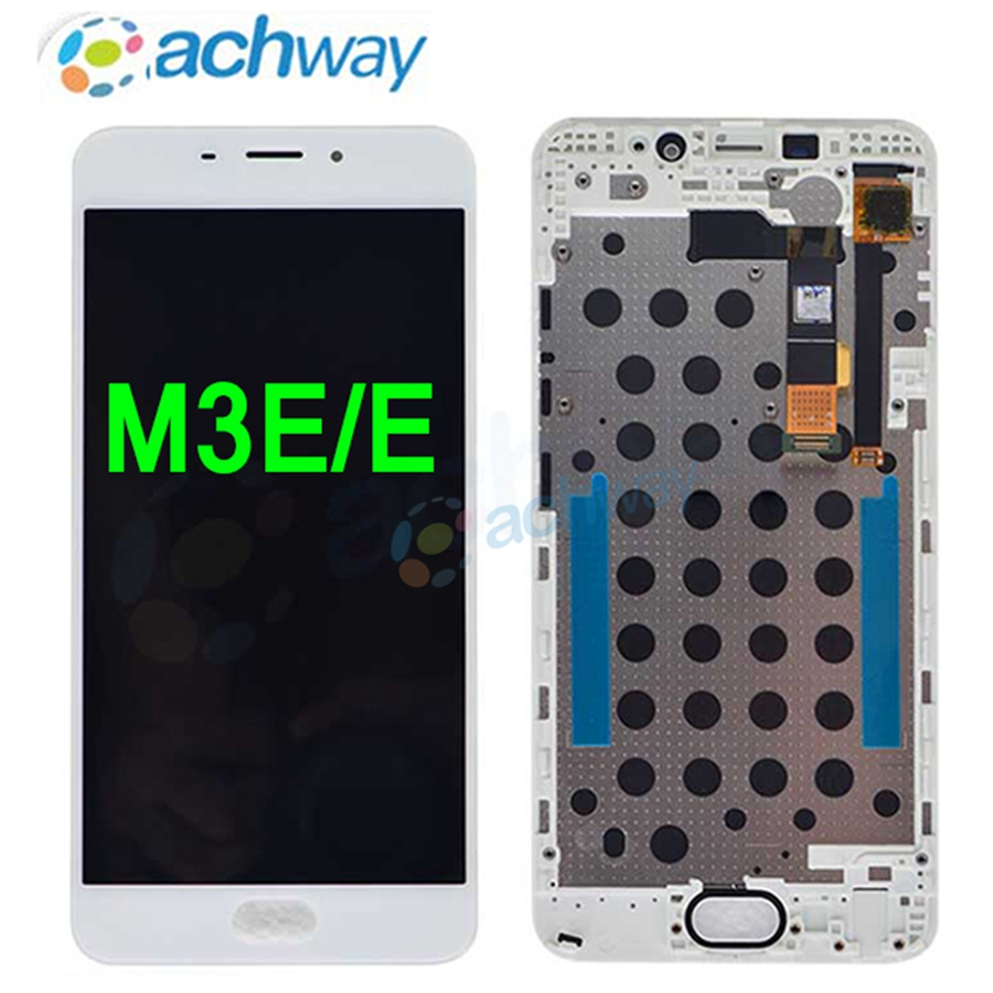 MEIZU M3E LCD Display Touch Screen Digitizer Assembly Meilan E For 5.5 Meizu M3E LCD Replacement Parts+Tools BlackWhite (1)