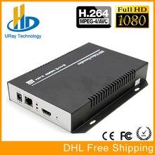 Meilleur MPEG4/H.264 AVC 1080 P HDMI À IP Encodeur Vidéo Soutien RTSP RTMP UDP Pour IPTV, Live Streaming, Wowza, Xtream Codes, Youtube
