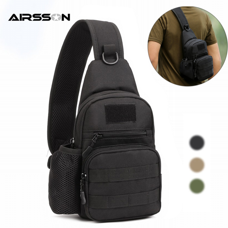 Tactical Molle Backpack Men Airsoft Shoulder Bag Waterproof 1000D Trekking Bag Utility Camping Hiking Travel Hunting Bags