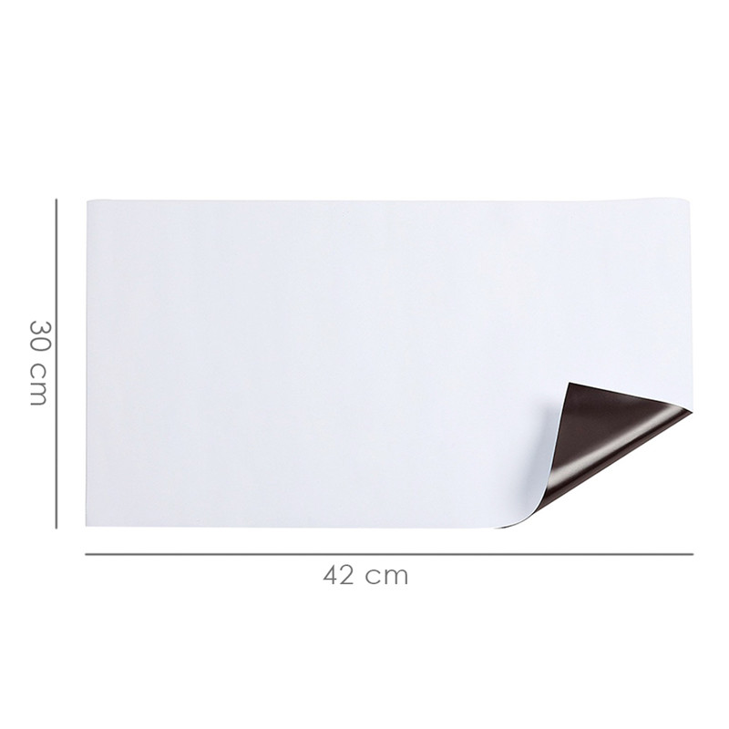 Attirant Cuttable Fridge Stickers DIY Eraseable Magnetic Whiteboard For Leaving  Messages Refrigerator Door Cover Mural Self Adhesive  In Wall Stickers From  Home ...