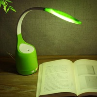 Mini Table Lamp Humidifier Folding Led Night Light Smart Touch Control Humidification Reading Light For Home