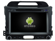 Android 7.1 CAR DVD player FOR KIA SPORTAGE 2010-2014 car audio gps stereo head unit Multimedia navigation WIFI SWC BT