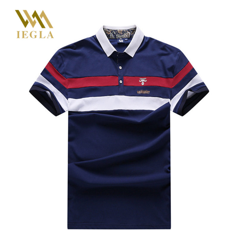 Men   Polo   Shirt Men Business & Casual Solid Male   Polos   Shirts Short Sleeve Breathable Summer Fat Chemise Tops Big Guy Clothes