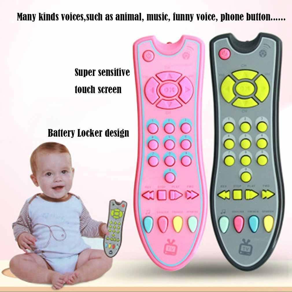 赤ちゃんリモートコントロールおもちゃの学習ライトリモートためクリックカウントリモートのおもちゃの少年少女のベビー幼児幼児のおもちゃドロップシッピング