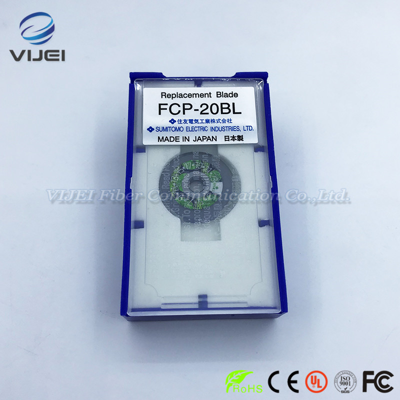 10pcs/lot High-precision FCP-20BL Sumitomo FC-6S FC-6 Fiber Optic Cleaver Blade 24Face Fiber Cutting 36000 times optical cleaver10pcs/lot High-precision FCP-20BL Sumitomo FC-6S FC-6 Fiber Optic Cleaver Blade 24Face Fiber Cutting 36000 times optical cleaver