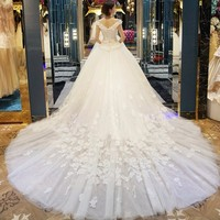 Vestidos De Noiva De Luxo 2017 Ball Gown Wedding Dresses Alibaba Retail Store Off The