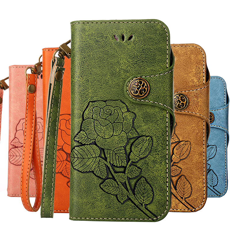 Dower Me sFor Huawei Y6 Y5 2017 Y3 Case Flip Leather Wallet For Coque Huawei Y6  2017Huawei Y5 2017