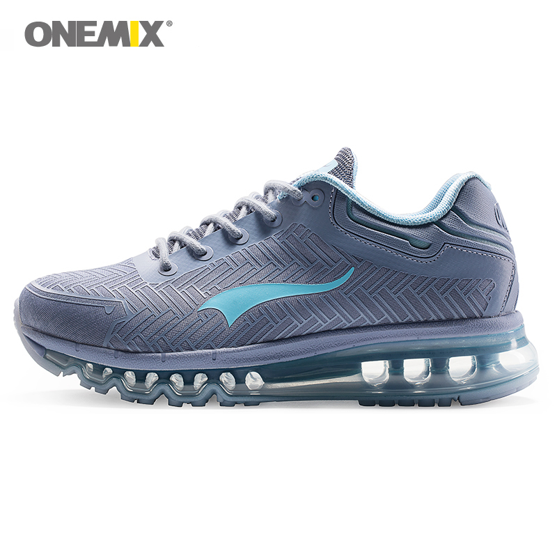Onemix 2019 Men's Air Cushion Running Shoes Shock Absorbing Shoes Breathable Outdoor Walking Jogging Shoes Size 39-46