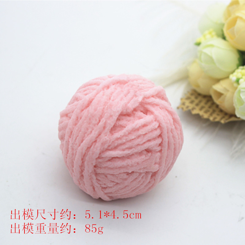 3D Creative Round Wool Ball Shape Candle Mould DIY Soap Silicone Mold Aromatherapy Plaster Craft Making Tool in Soap Molds from Home Garden