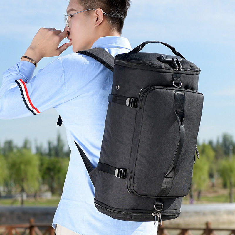 Men's Business Short distance Travel bag Backpack Multi function Shoulder Messenger Password Lock Anti theft Bag