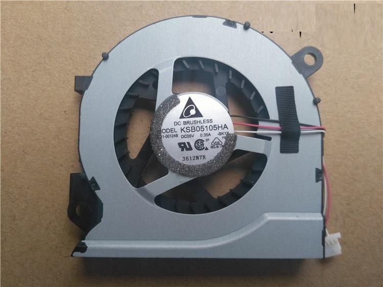 SSEA En Gros Nouvel ordinateur portable CPU ventilateur de refroidissement pour Samsung NP 530U4C NP535U4B 535U4C 532U4C NP535U4C KSB05105HA