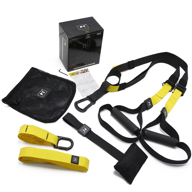Door Mounted Resistance Bands Set
