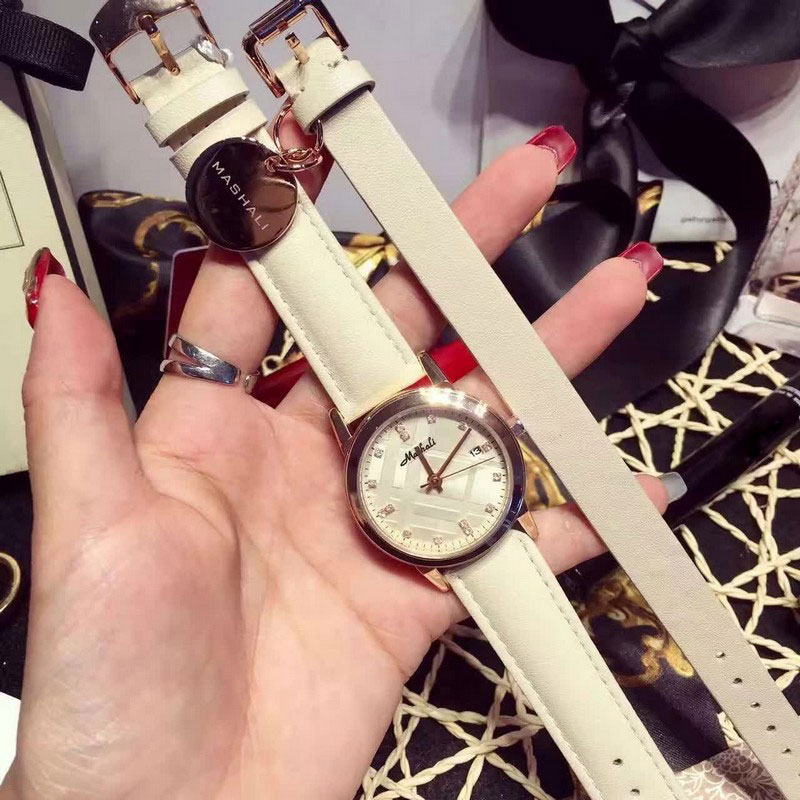 Classic New Fashion Simple Style Watch Set Luxury brand watch with bracelet Women casual Leather watches Reloj mujeres 2016 2017 classic new brand simple style top famous luxury brand quartz watch women casual leather watches hot clock reloj mujeres