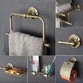 Copper bathroom Series European Modern Copper Towel Ring/ Toilet Paper Holder/Cup Holder/Robe Hook bathroom hardware FM-5200
