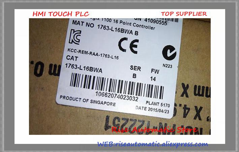 Brand New Original 1763-L16BWA PLC 120/240V AC MicroLogix 1100 Controller 1766 l32bwaa plc 120 240v ac micrologix 1400 controller