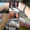 """3-11mm Men's Bracelets Silver Stainless Steel Curb Cuban Link Chain Bracelets For Men Women Wholesale Jewelry Gift 7-10"""" KBM03 11"""