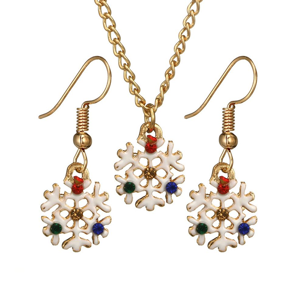 Creative Christmas Jewelry Sets Alloy
