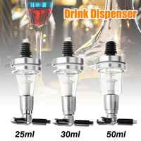 Drink Dispenser Spirit Measure Bar Bulter Optic Optics Cocktail Tools Kit 25ml 35ml 50ml Dispenser Machine Bar Tools