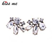 KISS ME дешевая цена, винтажные стильные маленькие серьги-гвоздики из смолы, модные ювелирные изделия для женщин, ретро Brincos