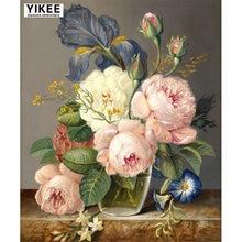 Yikee картина Алмазная 5d diy вышивка мозаика из горного хрусталя