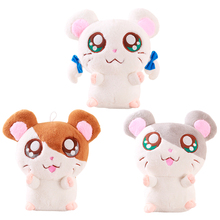30cm Kawaii Big Eyes Plush Hamtaro Hamster Toy Stuffed Hamster Doll Toys Children Gifts Birthday Gifts