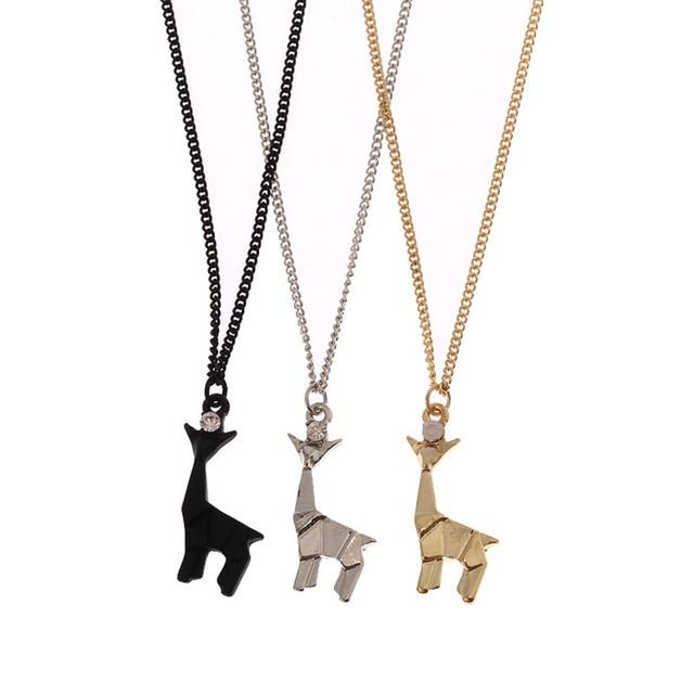 Giraffe pendant necklace women s clavicle chain small animals giraffe pendant necklace women s clavicle chain small animals deserve to act the role of short aloadofball Choice Image