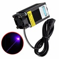 Adjustable Focal Blue-Violet Industrial Engraving Laser Module 500mw 405nm 5V