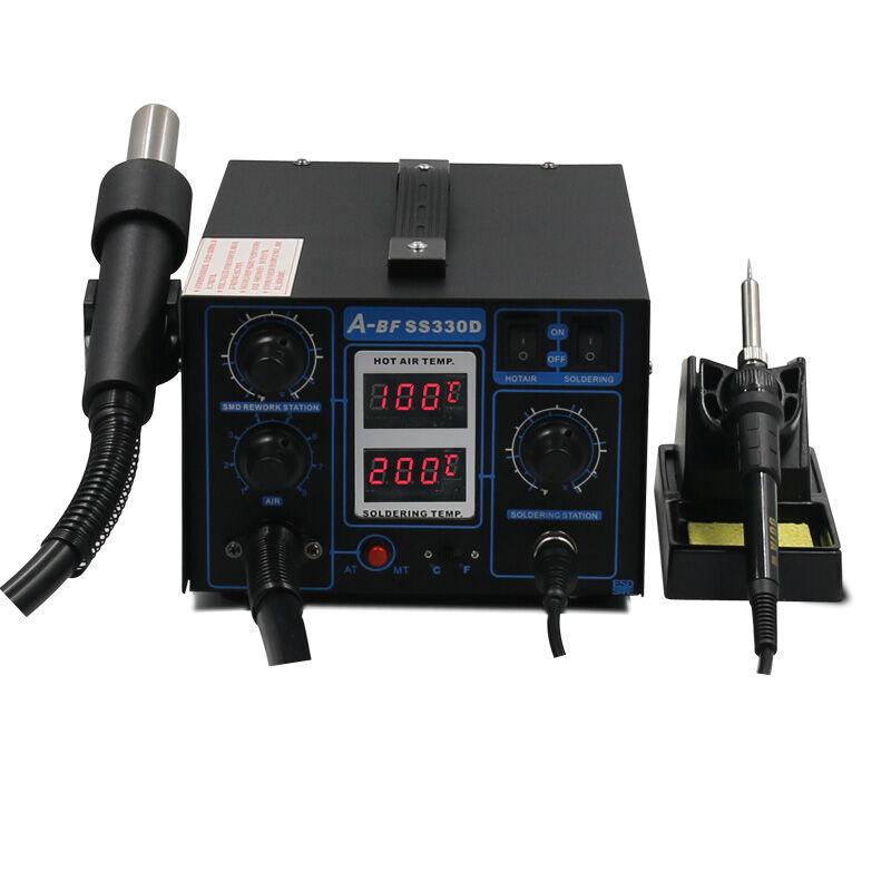 2-v-1 Rework Station duální digitální displej A-BF SS330D - Svářecí technika - Fotografie 3