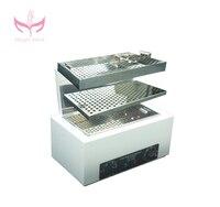 Профессиональный дезинфекции Инструменты высокое Температура дезинфекции Стерилизатор коробка Инструменты Оборудование для дизайна ног