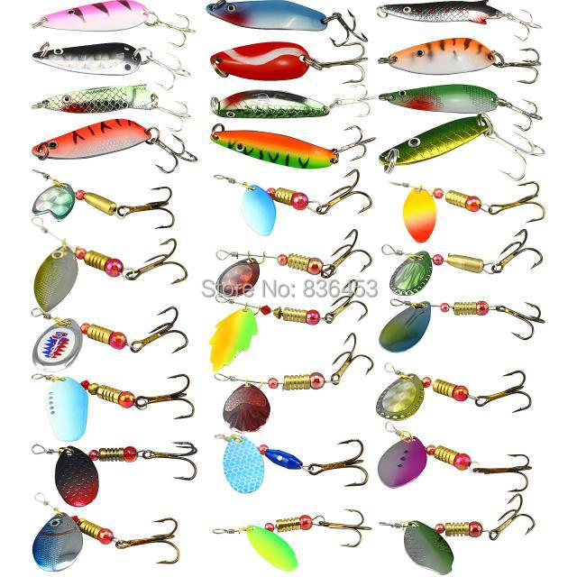 Buy anglers choice artificial lures kit for Types of fish bait