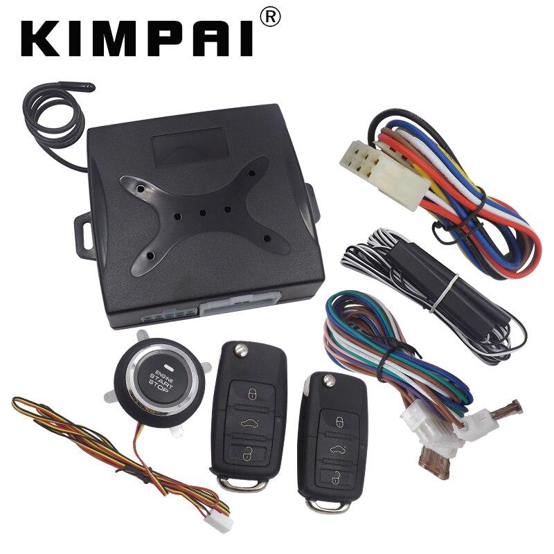 Aliexpress Com   Buy Kimpai Car Burglar Alarm Keyless