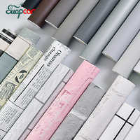 Thick Self adhesive Matte Wall paper Sticker Bedroom Dormitory Kitchen Waterproof Oil proof Furniture Cabinet Renovation Sticker