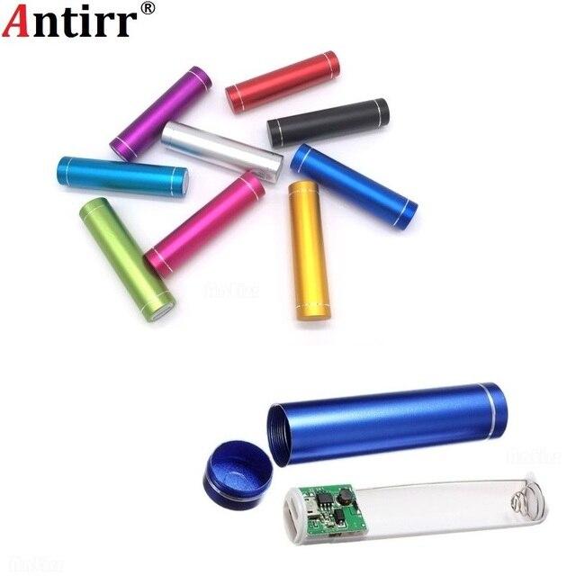 Antirr Phổ 5 V USB Ngân Hàng Điện Trường Hợp Kit DIY 1X18650 Battery Charger Box TỰ LÀM Cho Samsung Xiaomi Điện Thoại di động