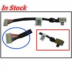 Image 1 - חדש מחשב נייד DC Power ג ק טעינת כבל חוט כבל עבור DELL XPS 15 9530 9550 9560 M3800 5510 064TM0