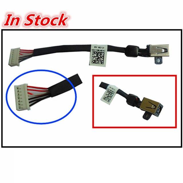 חדש מחשב נייד DC Power ג ק טעינת כבל חוט כבל עבור DELL XPS 15 9530 9550 9560 M3800 5510 064TM0