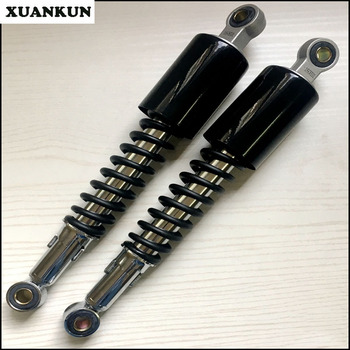 XUANKUN CG125 Retro Motorcycle Modified Lengthened Increased Height Shock Absorber Shock Absorber 33.5cm