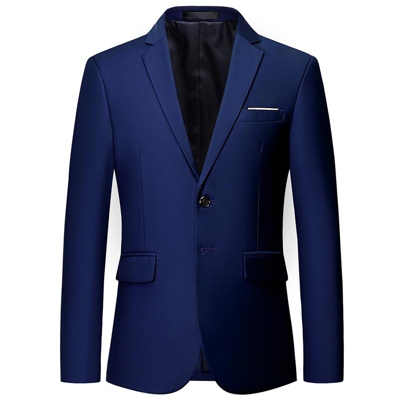 10-farbe Formale Anzug Jacke Große Größe 6xl Männer Blazer Business Casual Anzug Jacken Männlich