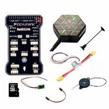 Mais novo Original M8N PIXHAWK Controlador de Vôo GPS para AT9 Radiolink/AT10 Controle Remoto OSD DIY RC Zangão Multicopter