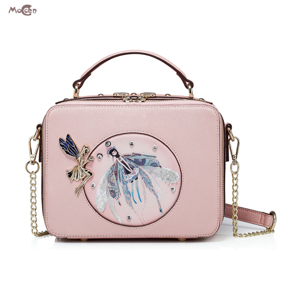 Moccen Pink Tote Bag Flap Handbag Lady Messenger Bags Shoulder Crossbody Bags For Women 2017 Female Bao Bao Ladies Satchel 500pcs 0402 1005 68nh chip smt smd multilayer inductors