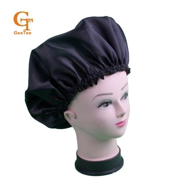 taille 40 dd26c 4500f € 16.23 5% de réduction|Stock extensions de cheveux vierges en soie satin  bonnet, double couche extensions de cheveux vierges humains/perruques de ...