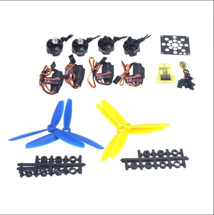 JMT  RC Aircraft Kit KV2300 Brushless Motor + 12A ESC + Straight Pin Flight Control + FC5x4.5 Propeller for 250 Helicopter jmt rc aircraft kit kv2300 brushless motor 12a esc straight pin flight control fc5x4 5 propeller for 250 helicopter