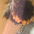 7A Malysian Virgem Cabelo Afro Kinky Curly Lace Encerramento 5x5 Lace Encerramento Oriente 3 Parte Livre Fechamento Nós Branqueada Livre grátis